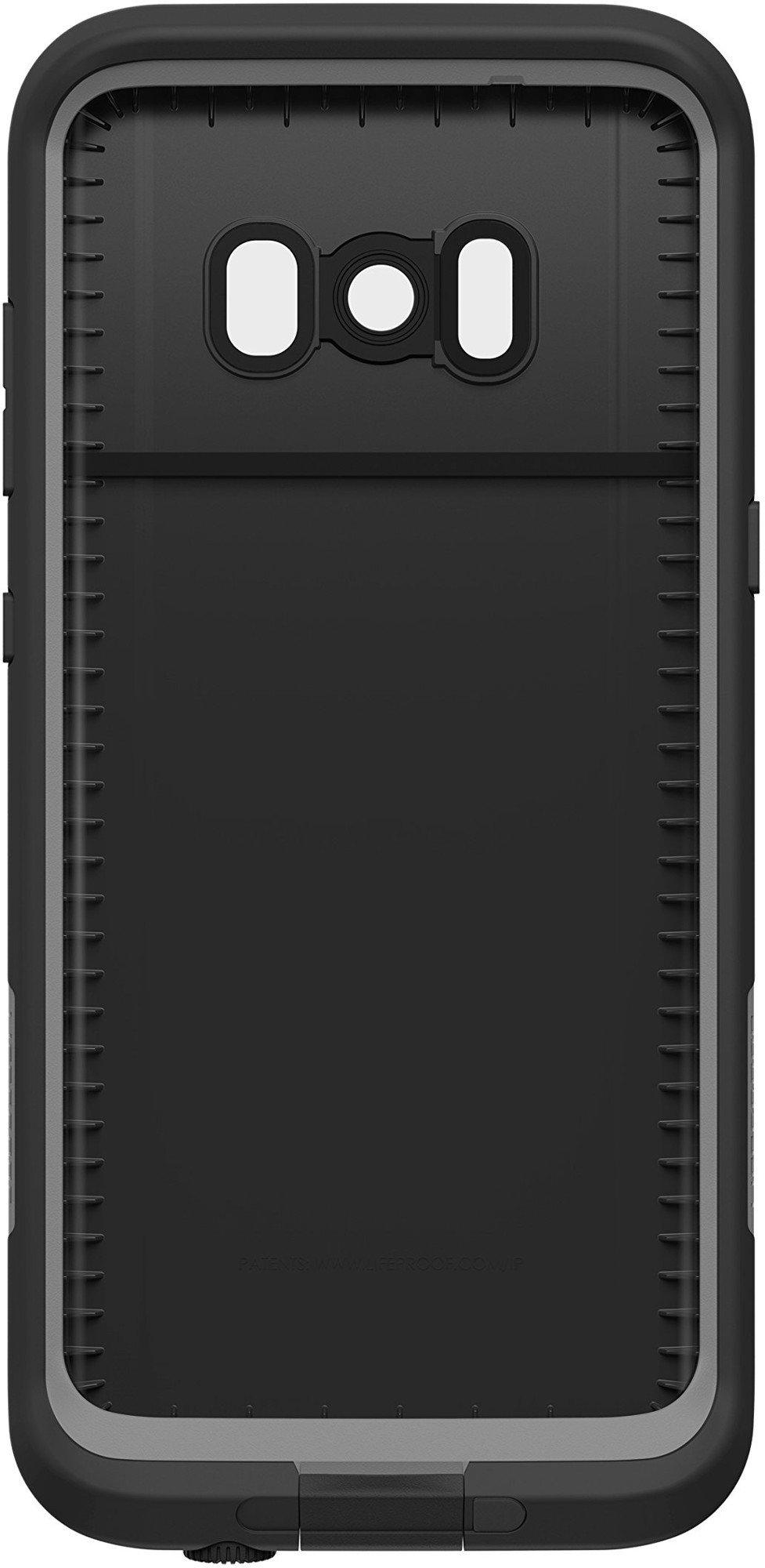 Lifeproof FRĒ SERIES Waterproof Case for Samsung Galaxy S8 (ONLY) - Retail Packaging - ASPHALT (BLACK/DARK GREY) by LifeProof (Image #2)