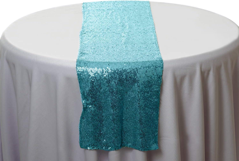 Nappe//table runner pour votre maison 3 couleurs étonnantes brodé