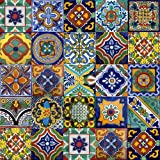 100 Mexican Tiles Mix