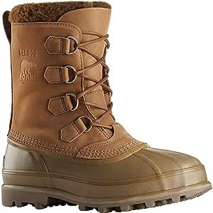 Sorel Men's Caribou Boots, Autumn Bronze, 7 D(M) US