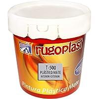 Rugoplast - Pintura plástica blanca mate lavable