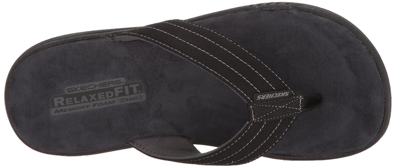 819b5e62 Amazon.com   Skechers Men's Evented Rosen Flip Flop   Sandals