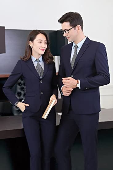 Amazon Com Men And Women Wear Same Style Business Suits Autumn