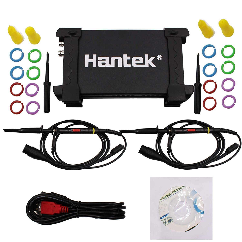 Hantek 6022BE USB Digital Storage Virtual Oscilloscope for Laptop Computer 2CH