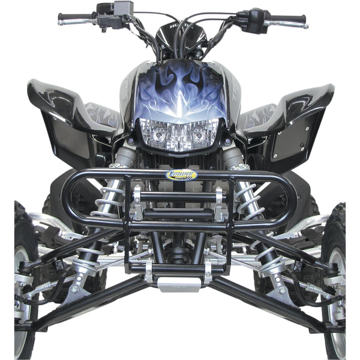Black 80-4012 Motoworks EZ-FIT TT//Short Track Bumper