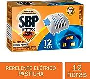 Repelente Elétrico Pastilha 12 Horas contém 1 Aparelho e 4 Pastilhas, SBP