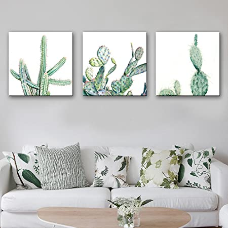 Oil Painting Cactus Decoration Home Decor On Canvas Modern Wall Art Prints Poster