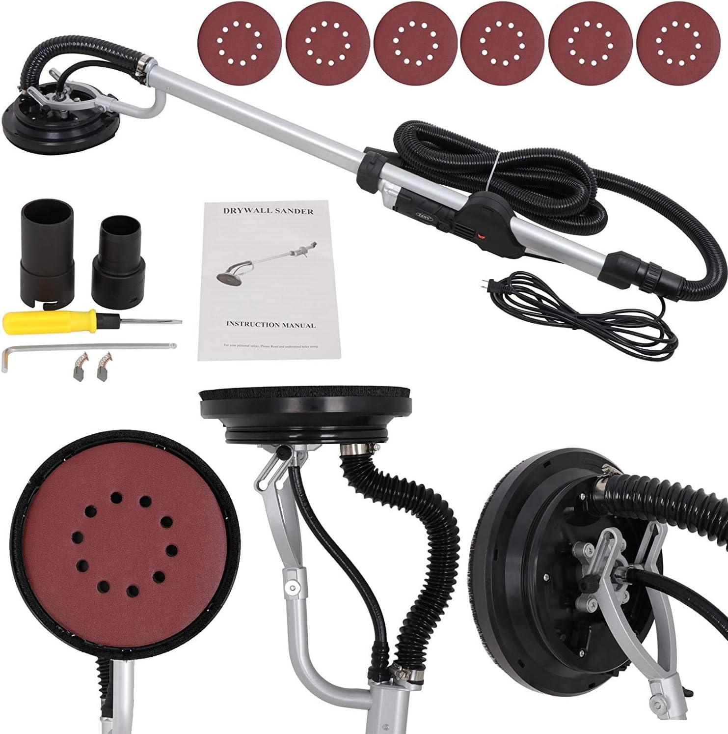 Details about  /110V Electric Drywall Sander Speed Adjustable Walls Sanding Dry Grinder Machine