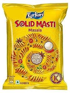 Kurkure Solid Masti, 90 grams (3.17 oz) - Vegetarian - India - snacks namkeen