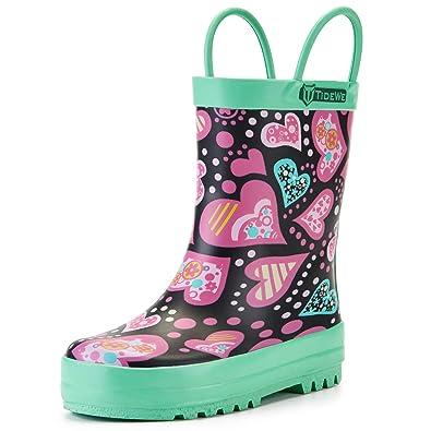 2942a62f8694a  TideWe  キッズ レインブーツ 子供用長靴 男の子 女の子 雨靴 乳児用~子供