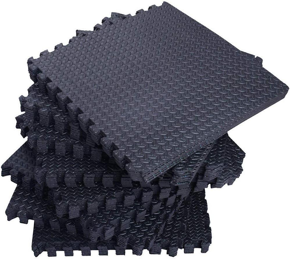 facile /à installer//d/émonter//nettoyer tapis de yoga multifonction Yuanyan Tapis de sol en mousse EVA pour exercices de fitness tapis dexercice en mousse de caoutchouc EVA tapis de sol tapis de yoga durable