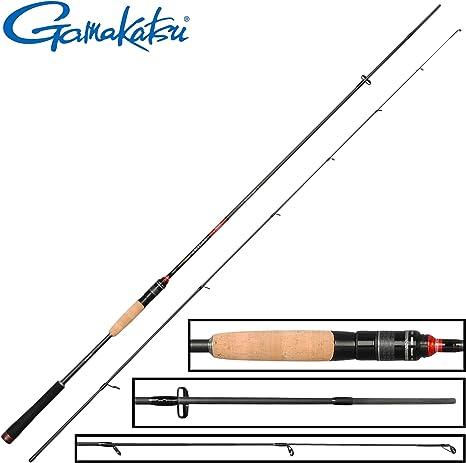 Gamakatsu akilas 80 ml 2,40 m, 3 – 15 G – Caña de spinning para ...