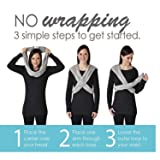 Baby K'tan Organic Baby Wrap Carrier, Infant and
