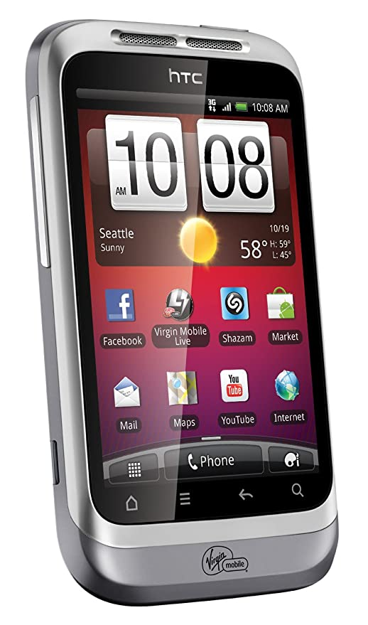 HTC Wildfire S Prepaid Android Phone (Virgin Mobile)