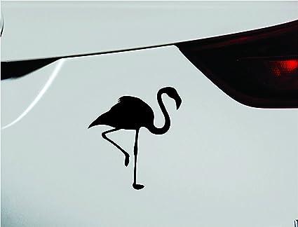 Pink Car Flamingo Silhouette Symbol Decal Funny Car Truck Sticker Window