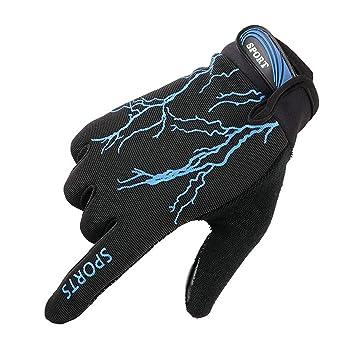 bien fuera x calzado buena calidad Blisfille Guantes Motocross Guantes Moto Tactiles Guantes de ...