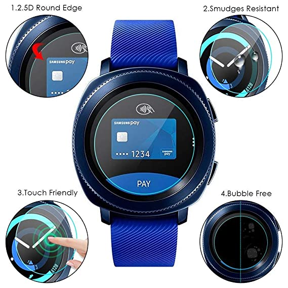Amazon.com: BATOP Samsung Watch Screen Protector || vskey ...