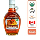Great Northern Organic Maple Agave Syrup, 236ml