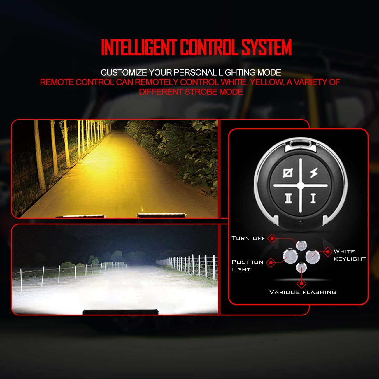 Led Light Bar Wiring Harnessautofeel Harness For Dual Color With Relay And Weatherproof Switch Work Remotefuse Relaywaterproof Eu Xz 02