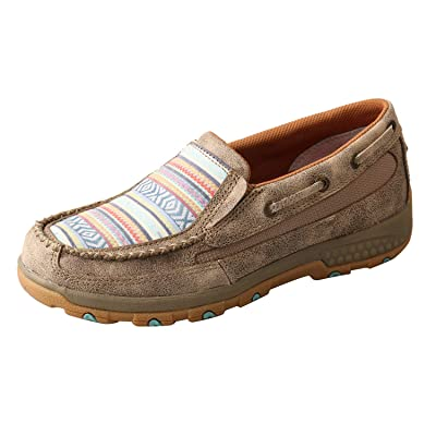 Twisted X Women's Boat Shoe Driving Moc | Loafers & Slip-Ons