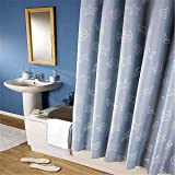 LESOLEIL Shower Curtain Polyester Bathroom Waterproof Decor 180x200cm With Hooks