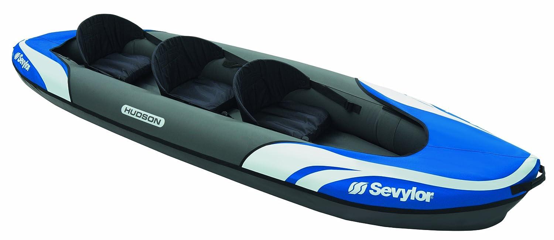 Sevylor Hudson Kayak Hinchable, Unisex, Azul: Amazon.es ...