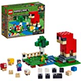 LEGO® Minecraft™ The Wool Farm 21153 Building Kit, New 2019