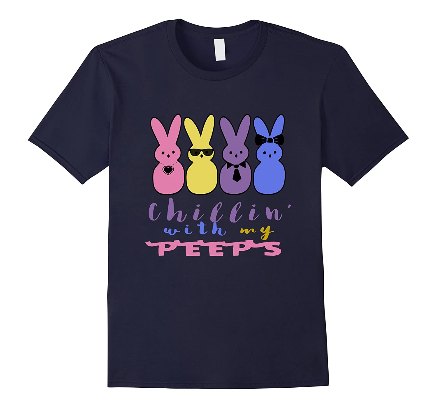 Easter Chillin with My Peeps Shirt-CD
