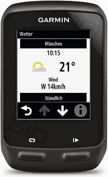 Garmin Edge 510 - Navegador GPS con pulsómetro y Sensor de cadencia (176 x 220 Pixeles, 35.6 x 43.2 mm (1.4 x 1.7), 80 g, 52 mm, 24 mm, Batería): Amazon.es: Deportes ...