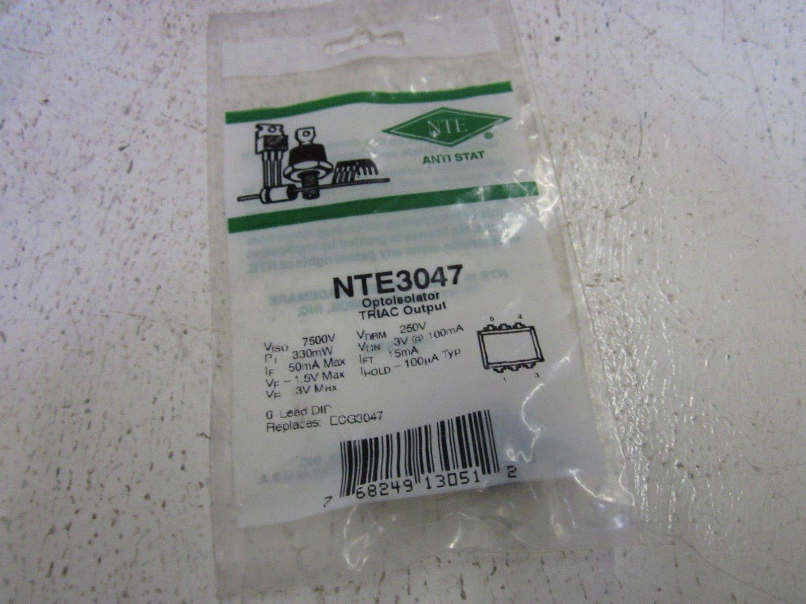 LOT OF 7 NTE NTE3047NEW IN FACTORY BAG
