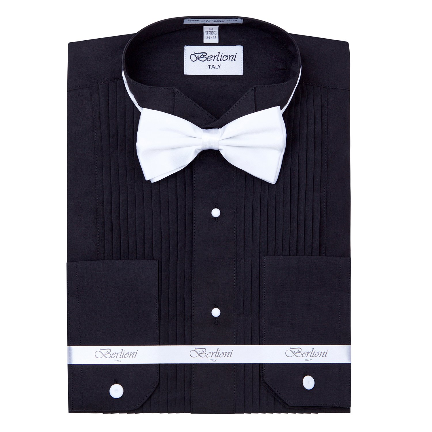 43d8d25bb This tuxedo shirt has a timeless design that any man can appreciate. It is  a Modern Fit shirt (in between a Regular Fit and Slim Fit) that features ...
