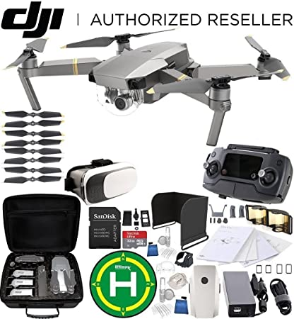 4904a661b42 Amazon.com: DJI Mavic Pro Platinum Collapsible Quadcopter Starter ...