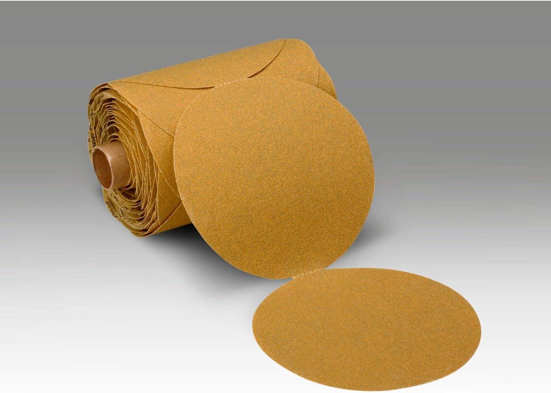 3M Stikit Paper Disc Roll 363I, P100 F-weight, 6 in x NH, Die 600Z, 100 discs per roll 717sXmPDJ1LSL1500_