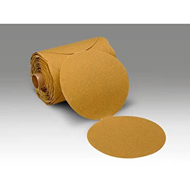 3M Stikit Paper Disc Roll 363I PSA Attachment Aluminum Oxide 8 Diameter P100 Grit Roll of 50 8 Diameter