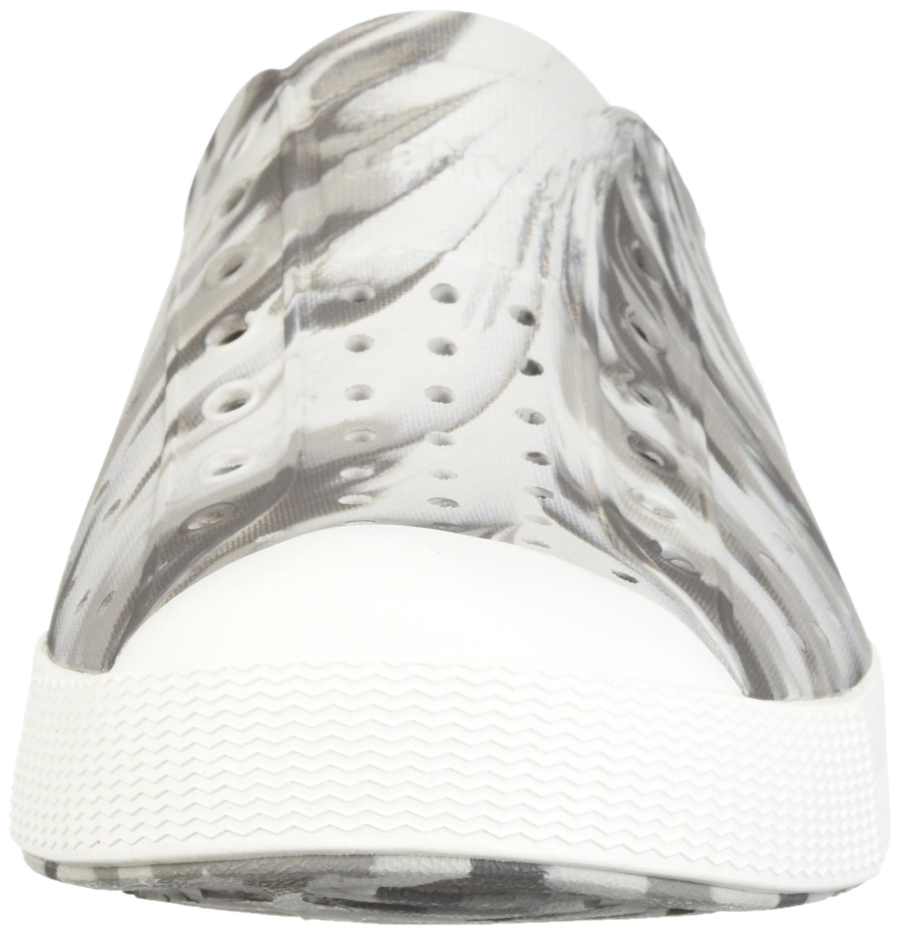 Native Kids Marbled Jefferson Water Proof Shoes, Dublin Grey/Shell White/Marbled, 5 Medium US Big Kid by Native Shoes (Image #4)