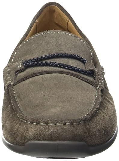 Amazon.com | Geox Shoes U Xense Moc C Mens Suede Leather ...