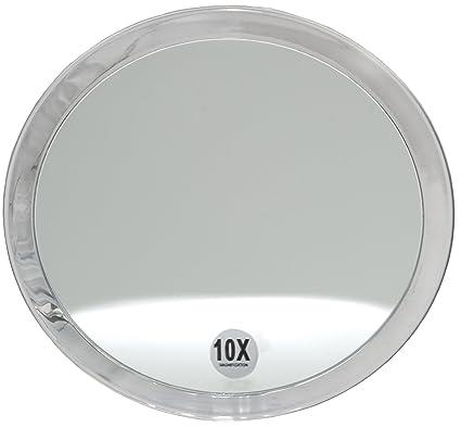 84f27f923f590 Fantasia - lupa espejo, un aumento de 10x, de acrílico transparente, con  ventosas