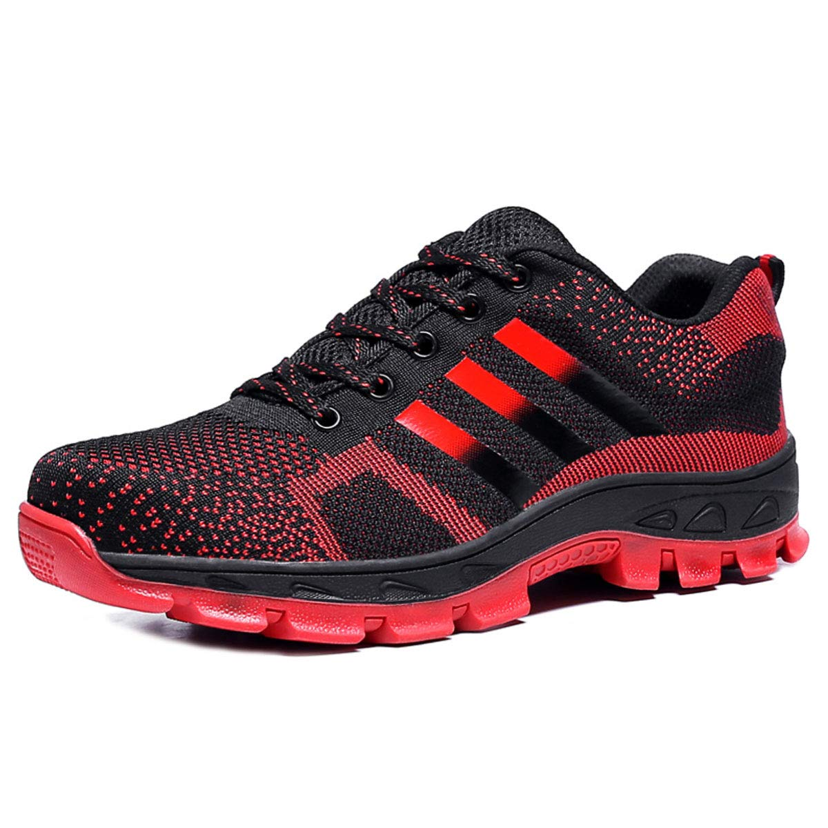 CHNHIRA Chaussures de Travail Homme Embout Acier Protection Antid/érapante Anti-Perforation Chaussures de S/écurit/é Unisexes