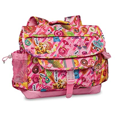 Bixbee Kids Backpack Funtastical Pink School Bag for Children, Medium | Kids' Backpacks