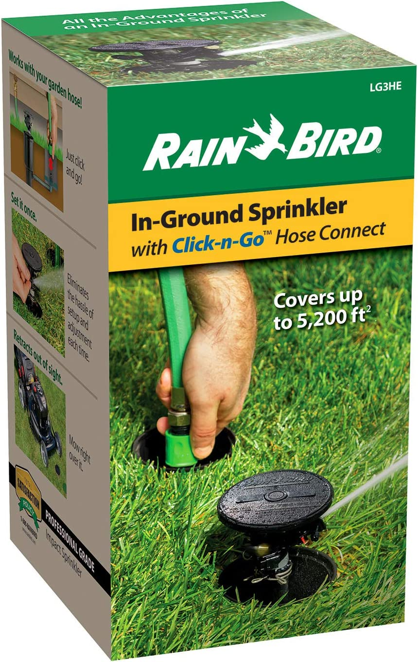 Rain Bird 1ZEHTMR Professional Grade Electronic Digital Hose End Timer/Controller, One Zone/Station, Battery Operated : Watering Timers : Garden & Outdoor