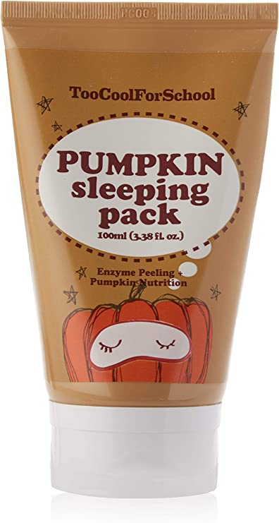 Too Cool for School Pumpkin Sleeping Pack, Mascarilla Facial Nocturna 100ml: Amazon.es: Belleza