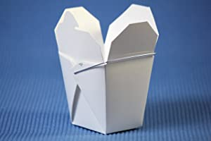 100 Chinese Take Out Box 8oz(wedding Favor/ Gift Boxes)