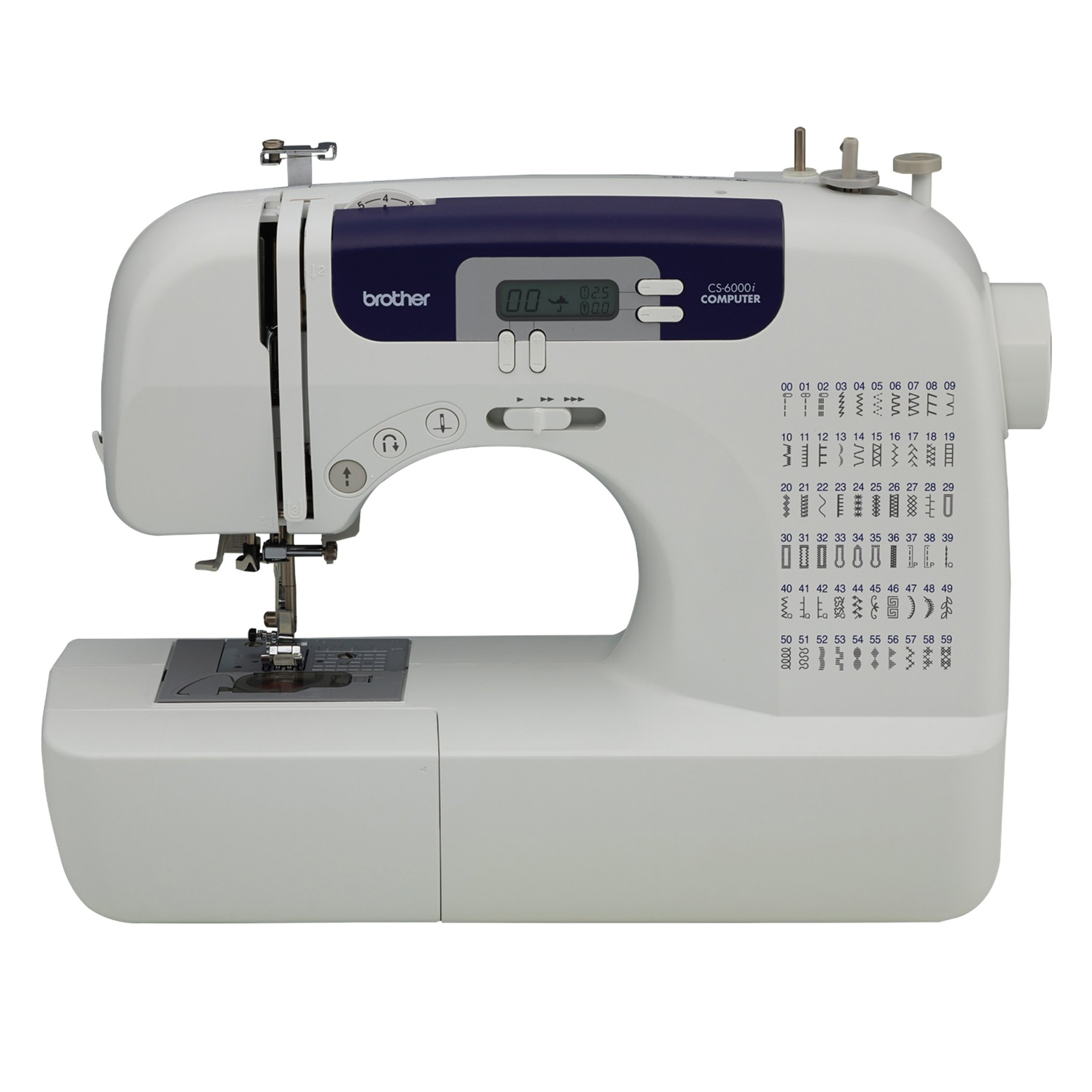 Best Rated In Sewing Machines Helpful Customer Reviews Singer 99 K Machine Threading Diagram Brother Cs6000i Feature Rich With 60 Built Stitches 7 Styles