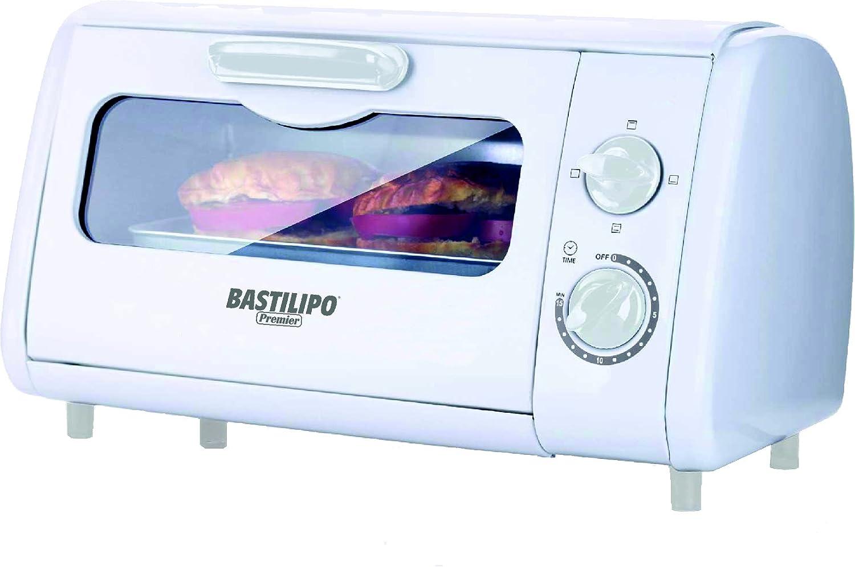 Bastilipo Sicilia Mini Horno Tostador 600 W 8 litros Blanco Otro