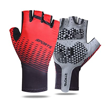 Driving Gloves Outdoors Summer Cycling Half Finger Breathable Sports Hand Grip