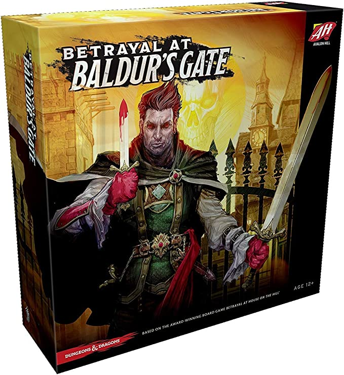 Avalon Hill Board Game Betrayal at Baldurs Gate English Wizards Coast Giochi: Amazon.es: Juguetes y juegos