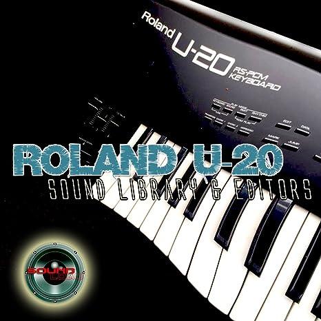 Roland U-20 enorme y original de fábrica nueva biblioteca de ...