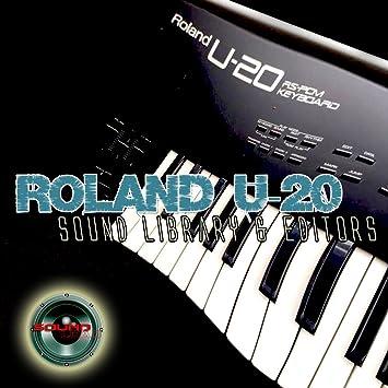 Roland U-20 enorme y original de fábrica nueva biblioteca de sonido creado y editores