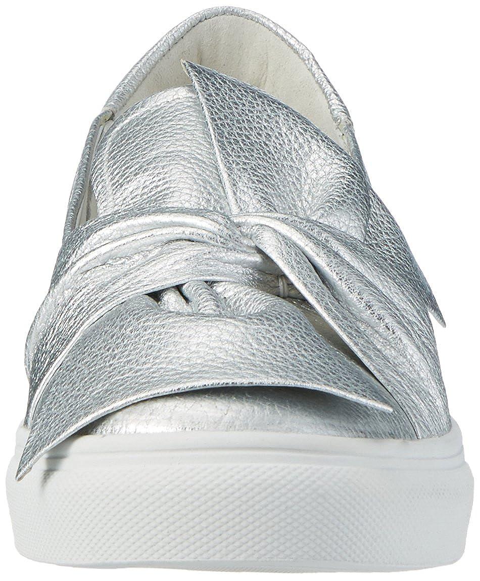 Kennel und Schmenger Schuhmanufaktur Damen Silver Basket Sneakers Silber (Light Silver Damen Sohle Weißs) 0c019a