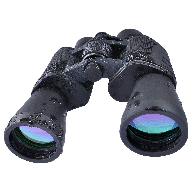 USCAMEL® ancha x ángulo HD prismáticos de la caza telescopioBinoculars profesional Negro